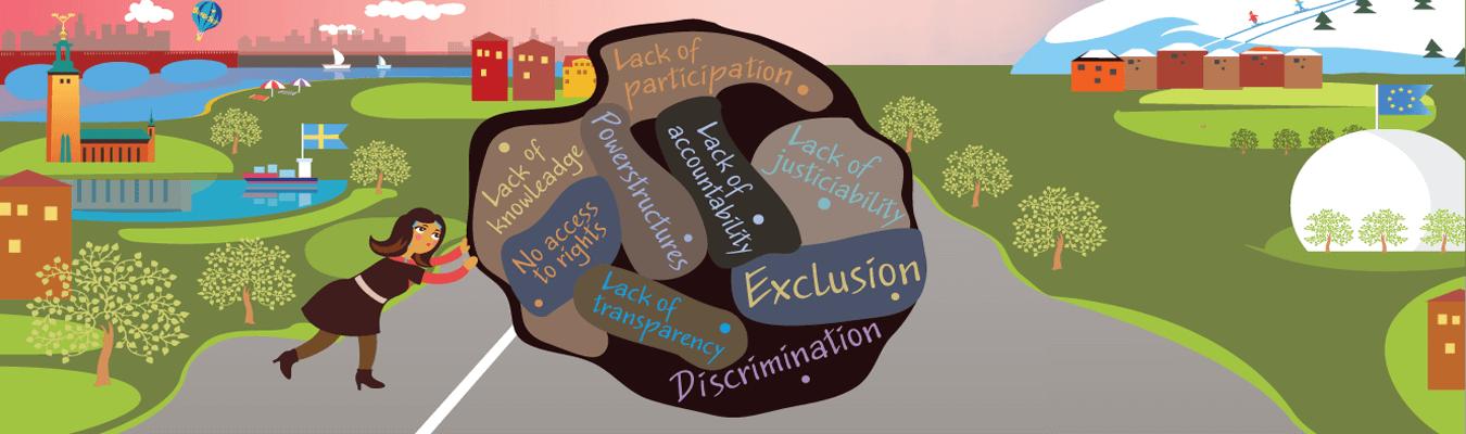 Hanna and Goliath föreläser om diskrimineringslagstiftningen hos Sensus Studieförbund