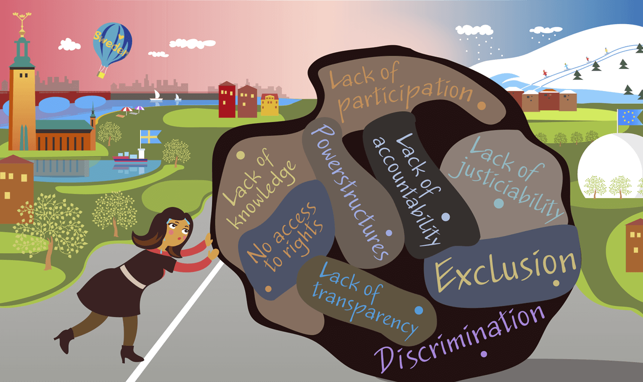 Hanna and Goliath fortbildar om diskrimineringslagen i Viskadalen den 2 oktober