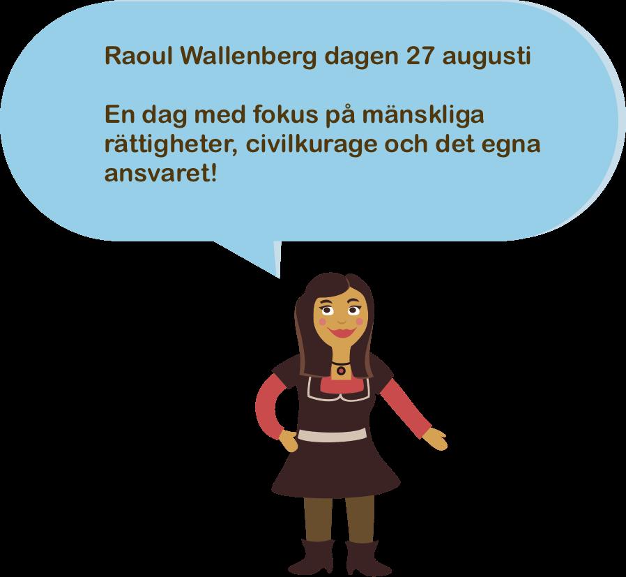 Boka föreläsning inför Raoul Wallenberg dagen 27 augusti