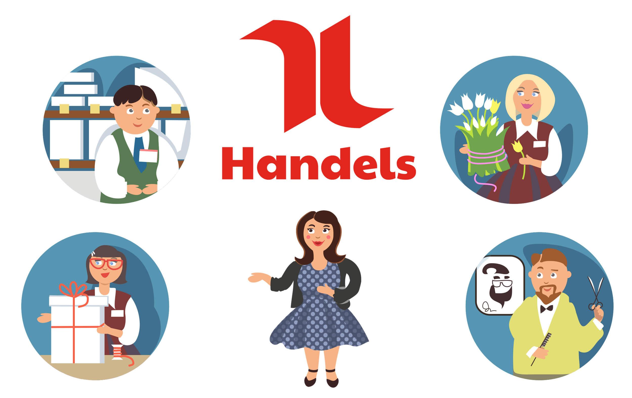 Hanna fortbildar skyddsombud hos Handels i Luleå, Göteborg och Nässjö
