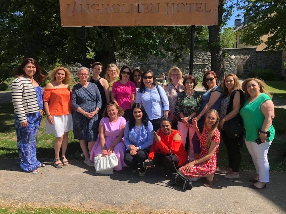 Alumniträff för Sveriges första interreligiösa program för kvinnor