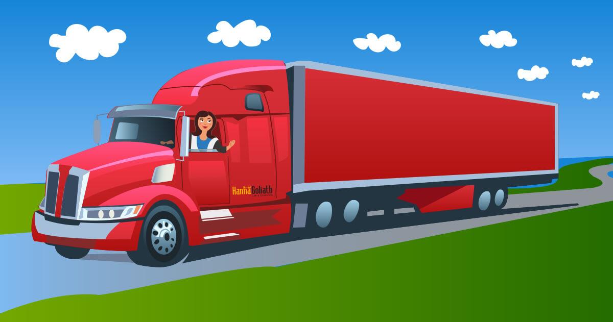 Hanna and Goliath fortbildar hos Transportfackens Yrkes och Arbetsmiljönämnd