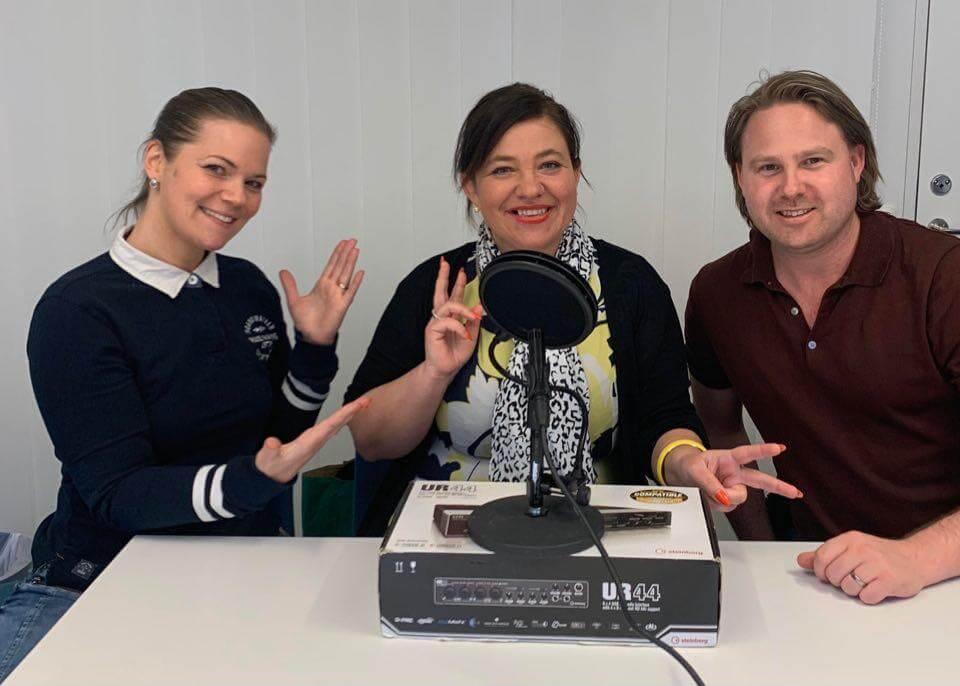 Hanna and Goliath medverkar i Sverigest största lärarpodd